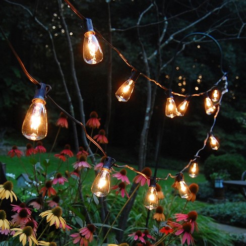 10 lights edison style electric string lights lumabase target