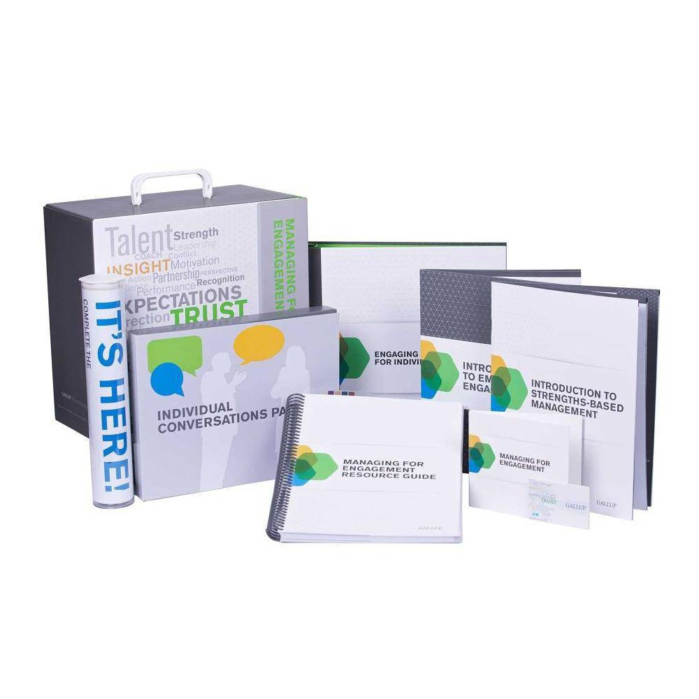 Managing for Engagement Kit - (Mixed media product)