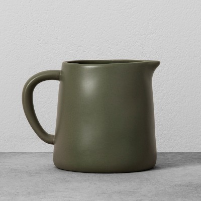 Stoneware Pitcher - Green - Hearth & Hand™ with Magnolia