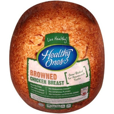 Healthy Ones Browned Chicken Breast - Deli Fresh Sliced - price per lb