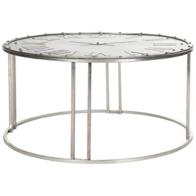 Roman Accent Table Dark Silver - Safavieh