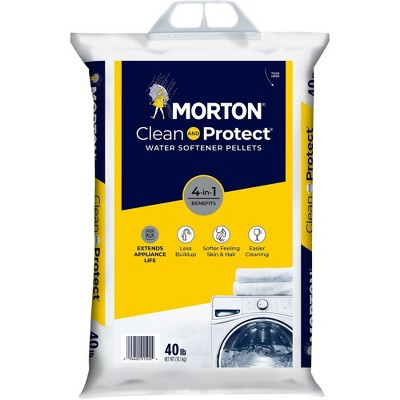 Clean and Protect Water Softener Pellets - 40lbs - Morton