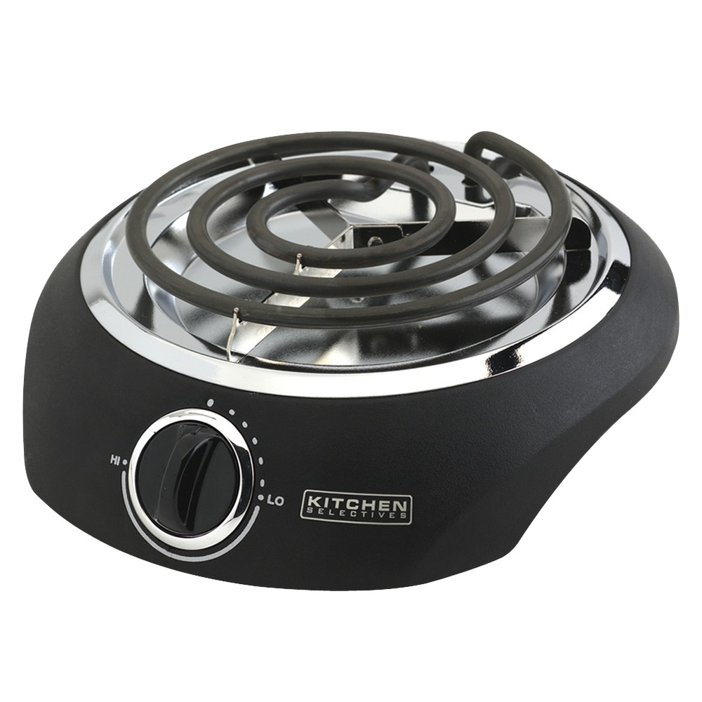 Kitchen Selectives Single Burner, Black 10386198