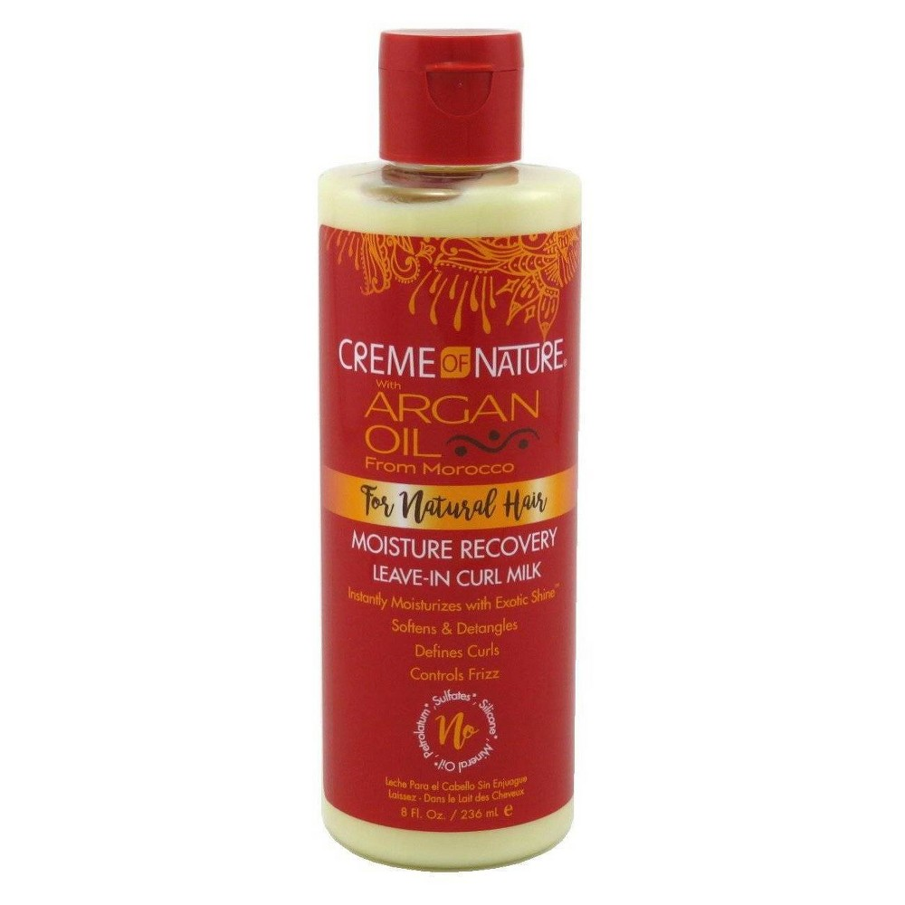 Image of Creme of Nature Moisture Recovery Leave-in Curl Milk - 8 fl oz
