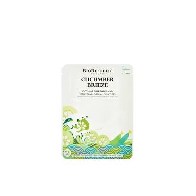 BioRepublic SkinCare Cucumber Breeze Soothing Mask - 0.63oz