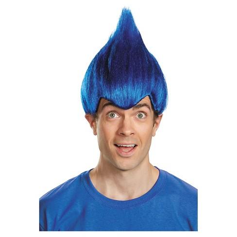 Wacky Adult Costume Wig Dark Blue   Target 495fe0a40c17