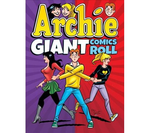 Archie Giant Comics Roll -  (Archie Giant Comics Digests) (Paperback) - image 1 of 1