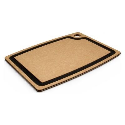 Epicurean Gourmet Series Natural and Slate 17.5 x 13 Inch Cutting Board