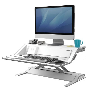 Fellowes Workstation Sit-Stand 35 lb cap 22 Height Positions WE 8080201