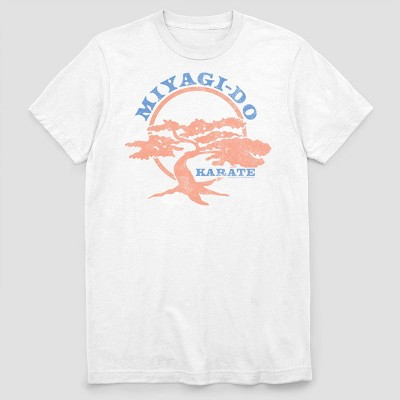 Men's Netflix Miyago Do 2 Color Short Sleeve Graphic Crewneck T-Shirt - White