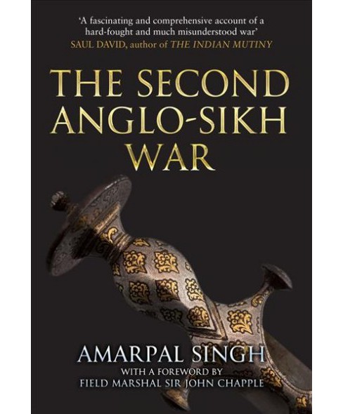 Second Anglo-sikh War (Reprint) (Paperback) (Amarpal Singh) - image 1 of 1