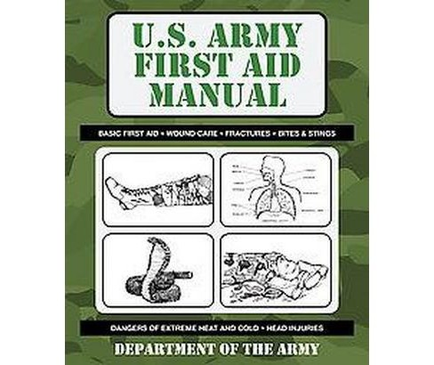 U.S. Army First Aid Manual (Original) (Paperback) - image 1 of 1