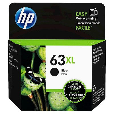 HP 63XL Single Ink Cartridge - Black (F6U64AN_140)