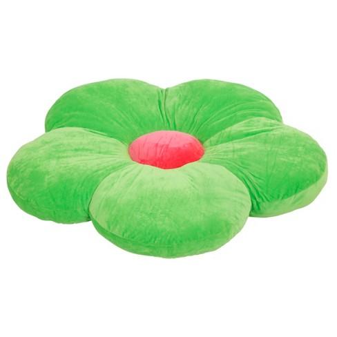 ECR4Kids Flower Floor Pillow, Oversized Cushion for Kids' Bedrooms, Reading Nooks, Playrooms - image 1 of 4