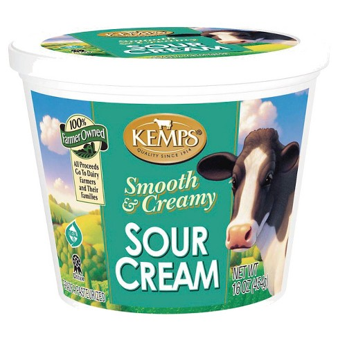 Kemp's Smooth and Creamy Sour Cream - 16oz - image 1 of 1
