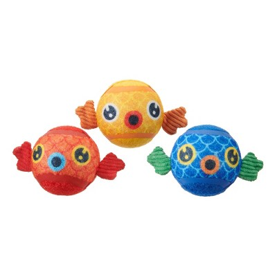 BARK Puppy Guppies Tennis Ball Groupers Dog Toy