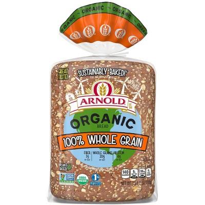Arnold Organic 100% Whole Grain Sandwich Bread - 11oz
