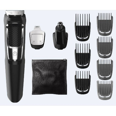 Philips Norelco Series 3000 Multigroom Men's Rechargeable Electric Trimmer - MG3750/60 - 13pc - image 1 of 4