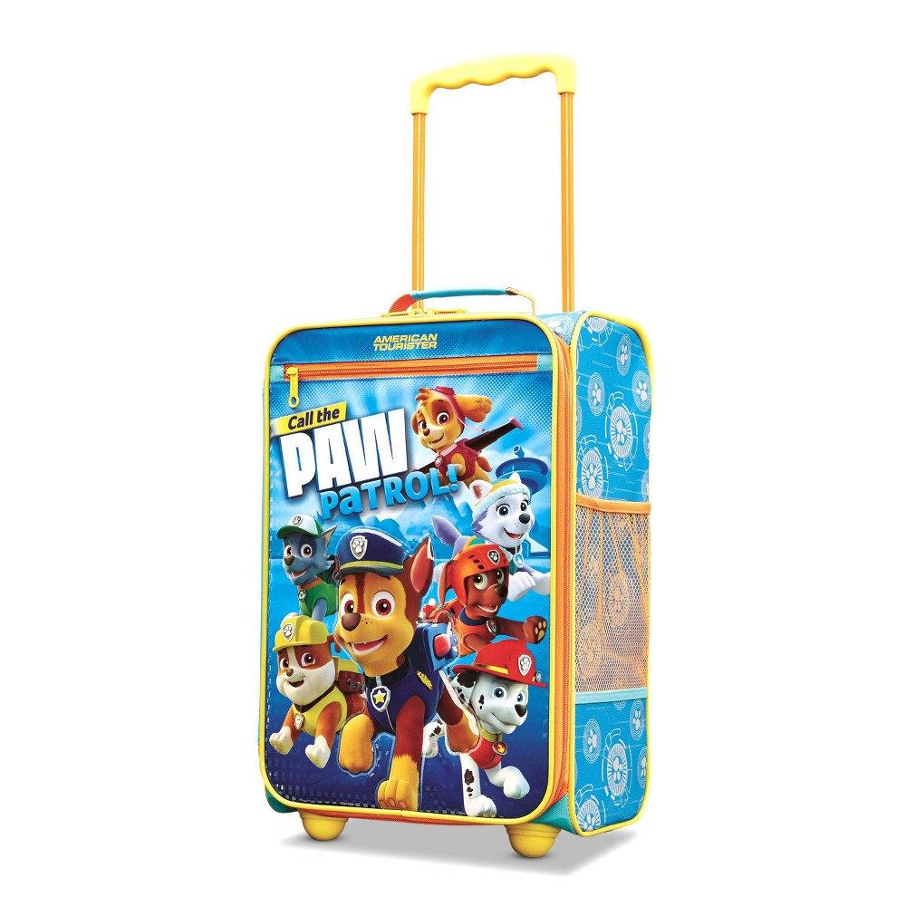 American Tourister Paw Patrol 18 Kids Carry On Suitcase - Blue