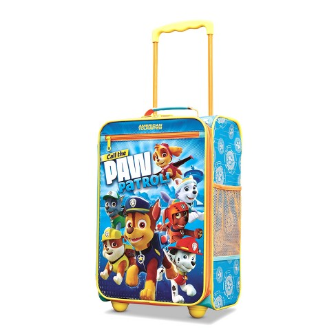 "American Tourister Paw Patrol 18"" Kids Carry On Suitcase - Blue - image 1 of 13"