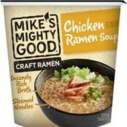Mike's Might Good Soup Chicken Ramen Cup - 1.7oz