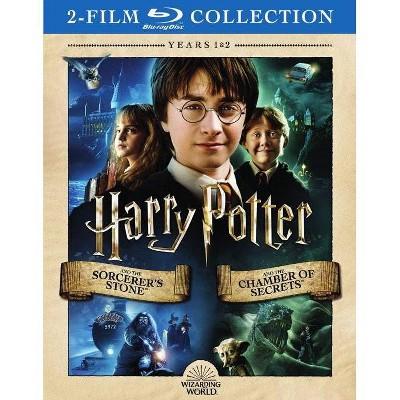 Harry Potter:Sorcerer's Stone/Chamber (Blu-ray)