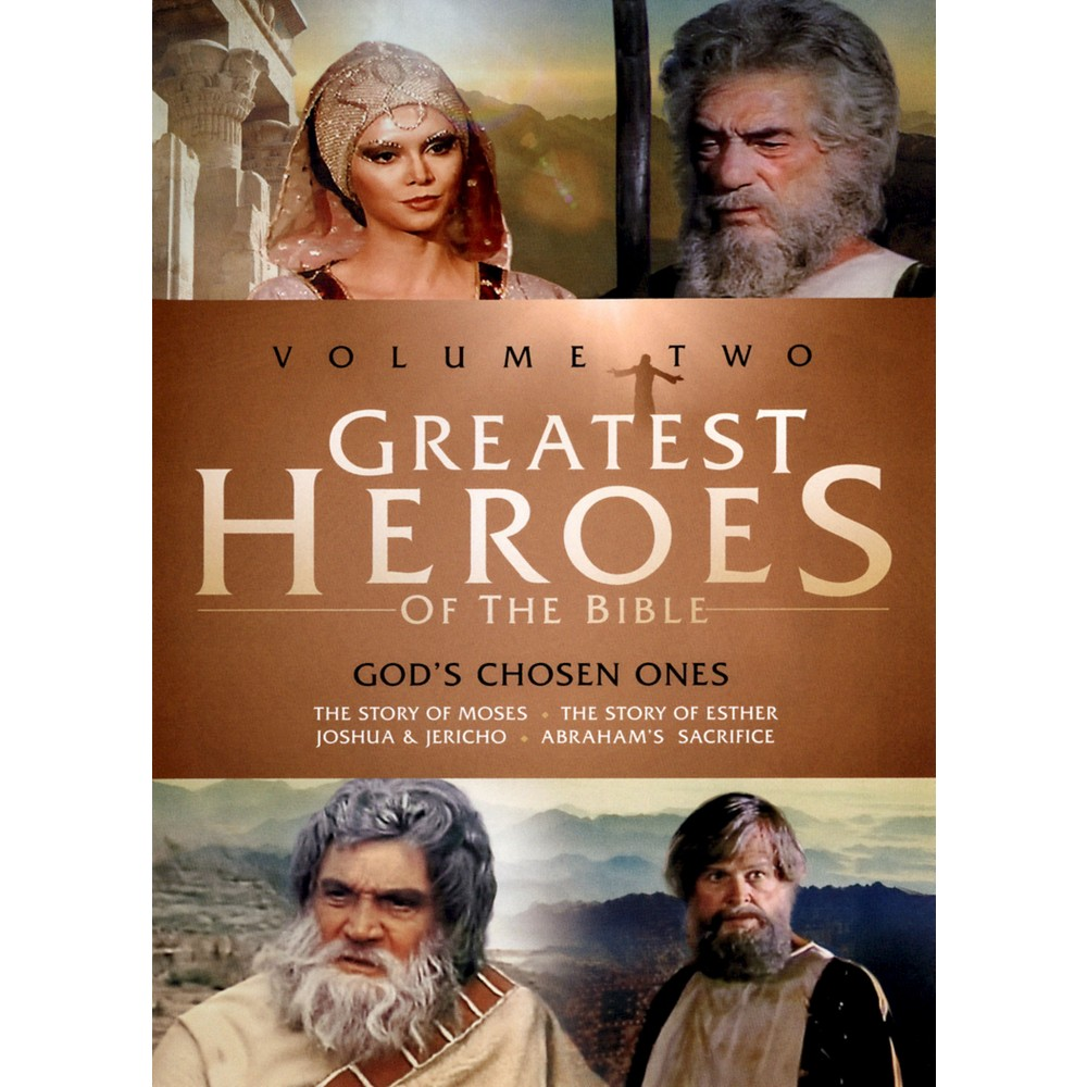 Greatest Heroes Of The Bible V 2/God' (Dvd)