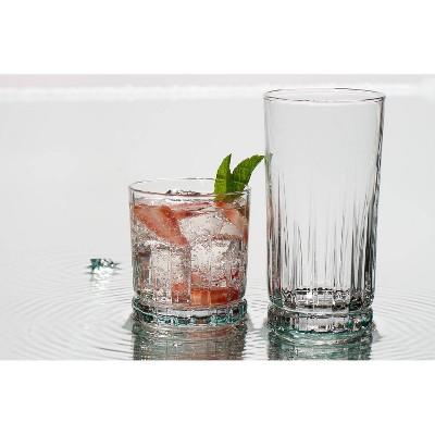 Anchor 16pc Glass Anniston Drinkware Set