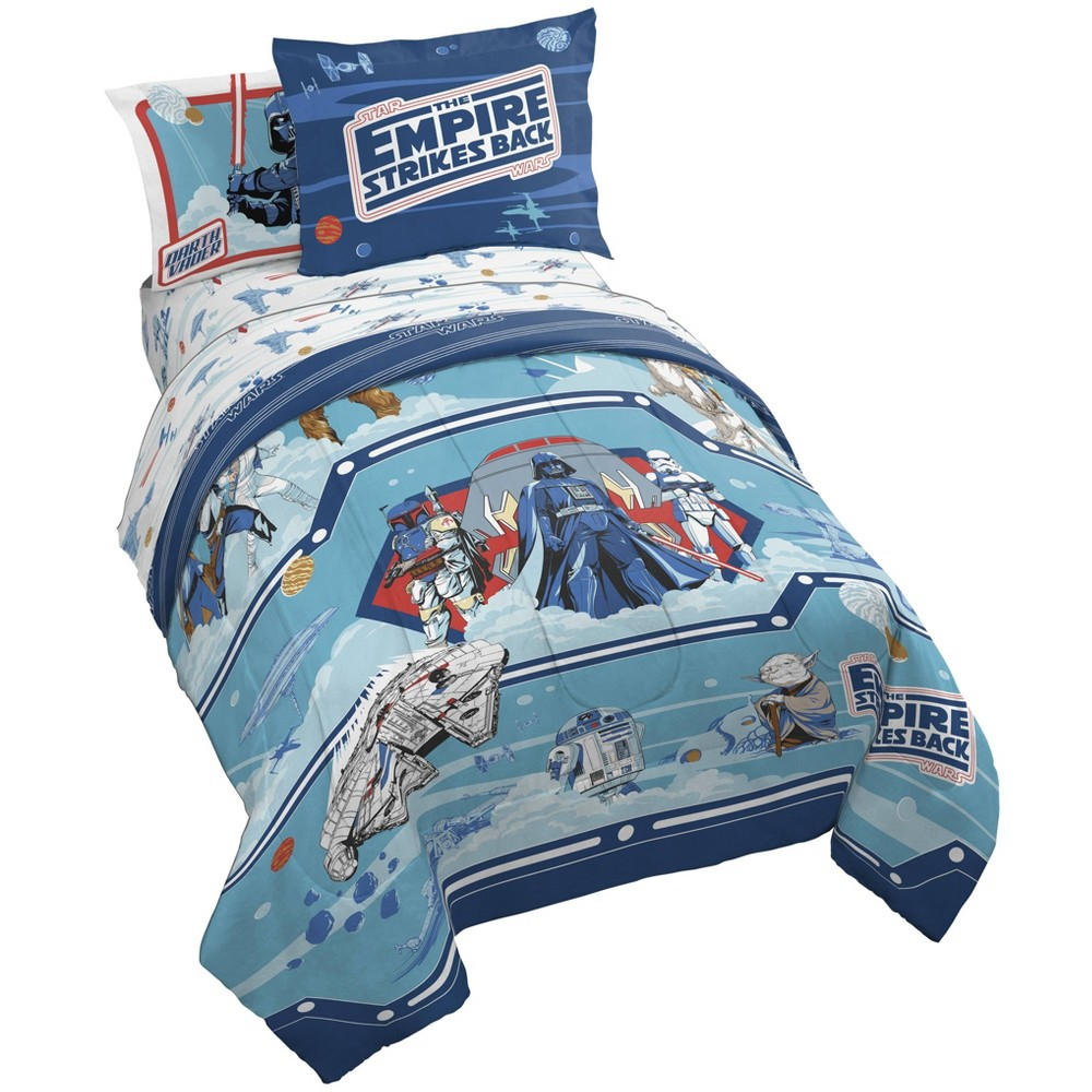 Twin Star Wars 40th Empire Bed In A Bag