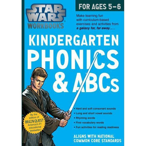 Kindergarten Phonics and ABCs - (Star Wars Workbook) by  Workman Publishing (Paperback) - image 1 of 1