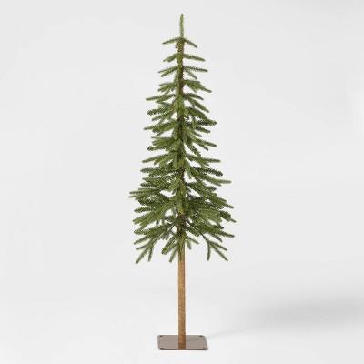 5ft Unlit Downswept Alpine Balsam Artificial Christmas Tree - Wondershop™