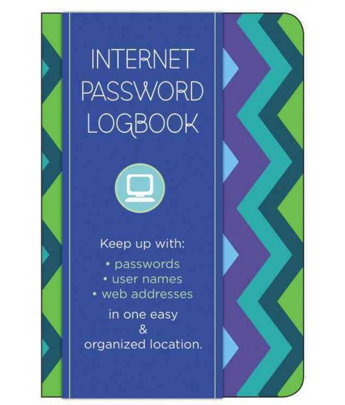Internet Password Logbook - Pattern : Keep Track Of: Usernames, Passwords, Web Addresses in One Easy & - image 1 of 1