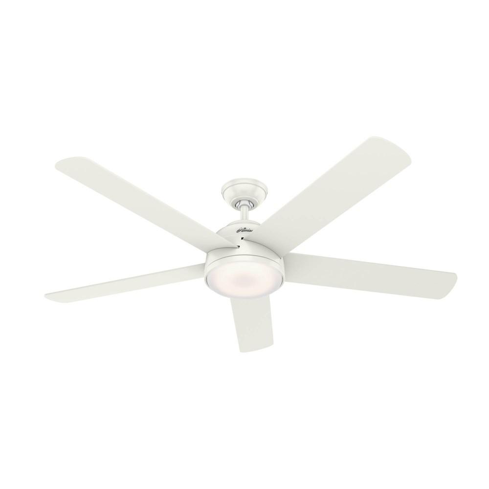 "Image of ""60"""" LED Romulus Wifi DR Ceiling Fan with Light Fresh White - Hunter Fan"""