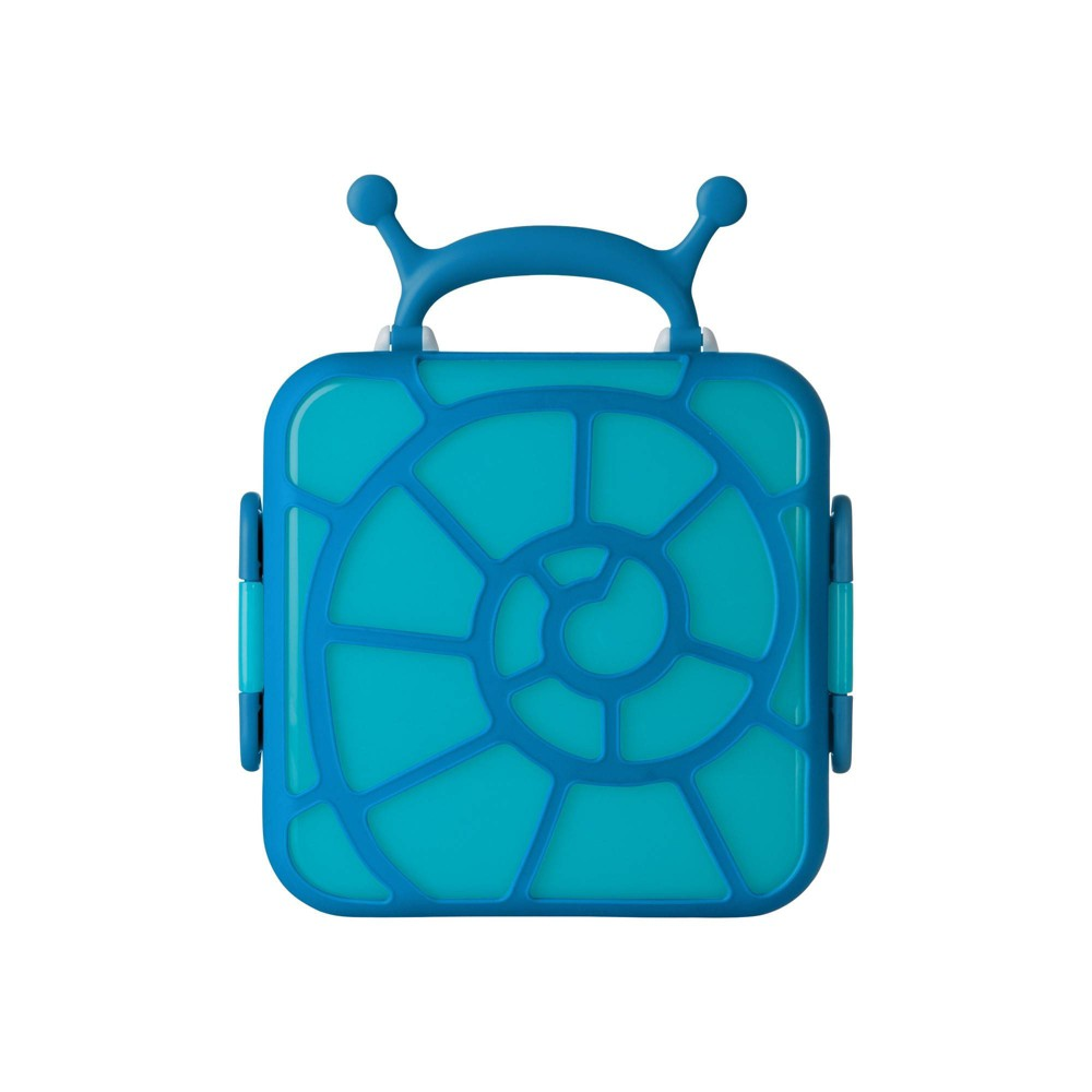 Image of Boon BENTO Lunch Box - Snail, Blue