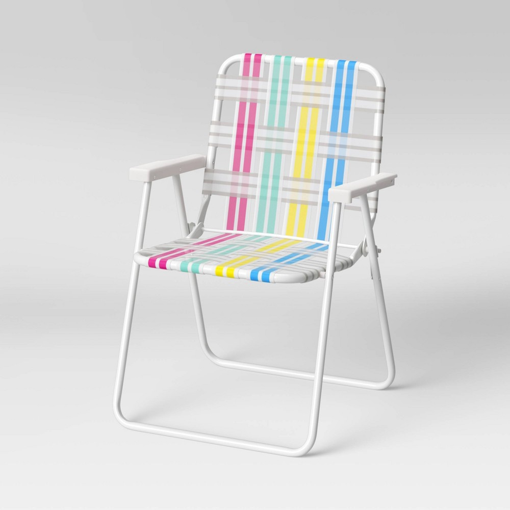 Coupons Webstrap Folding Beach Sand Chair - Sun Squad™
