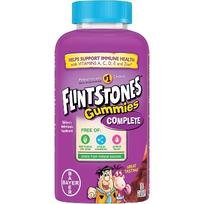Multivitamins: Flinstones Children's Multivitamin Gummies