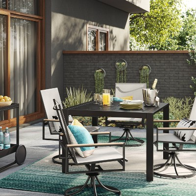 Henning Patio Table Set with Swivel Chairs - Project 62™