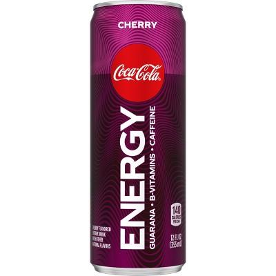 Coca-Cola Energy Cherry - 12 fl oz Can