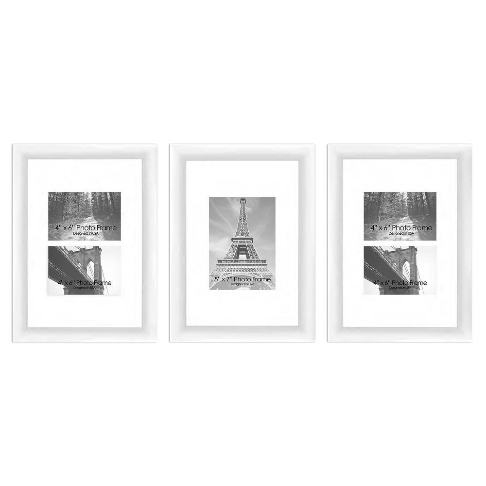 Pro Tour Memorabilia Frame Set - Wood, White