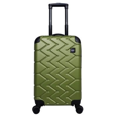 Sharper Image 20  Hardside Spinner Carry On Suitcase - Green
