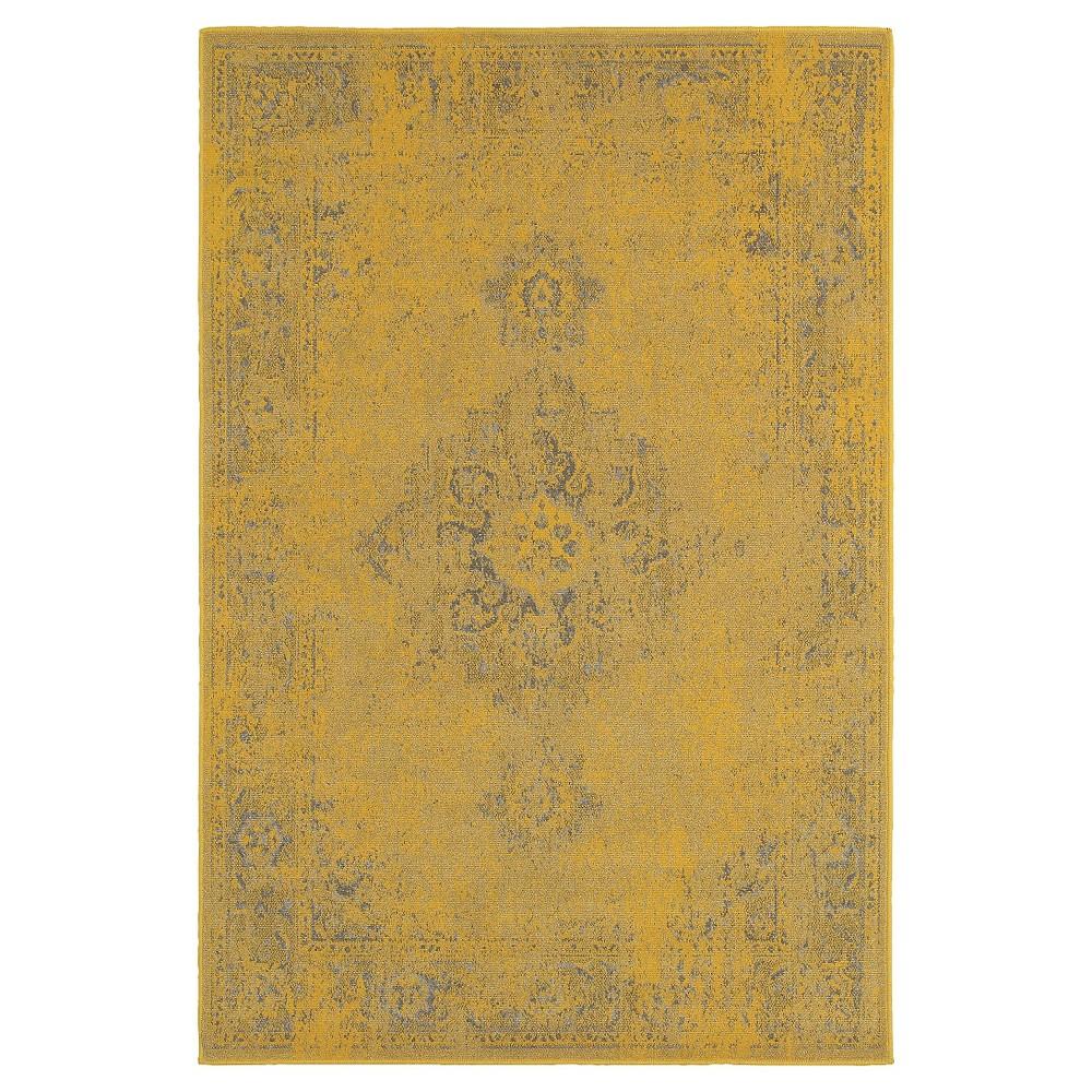 Yellow Fez Bold Rug 5'x8' - Oriental Weavers