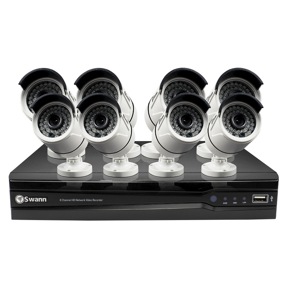 Swann Home Security System - (Swnvk-874008-US)