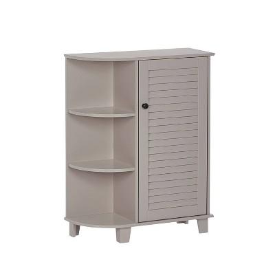 Ellsworth Floor Cabinet with Side Shelves - RiverRidge Home