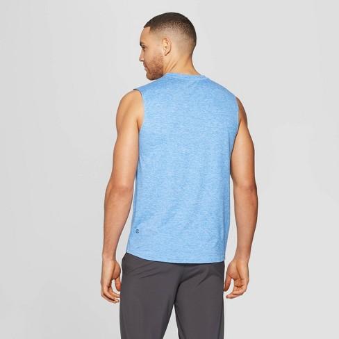 584aeb7e9 Men's Sleeveless Tech T-Shirt - C9 Champion® Blue Jay Heather S : Target