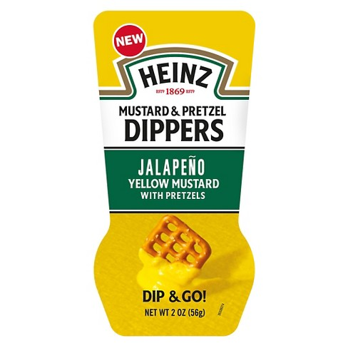 Heinz® DIP & GO! Jalapeno Yellow Mustard with Pretzels - 2oz - image 1 of 1