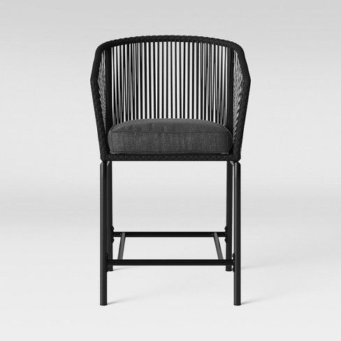 Standish 2pk Bar Height Patio Chair Charcoal Project 62 Target