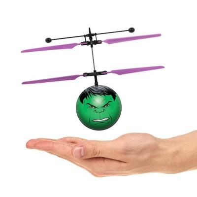 World Tech Toys Marvel Avengers Hulk IR UFO Ball Helicopter