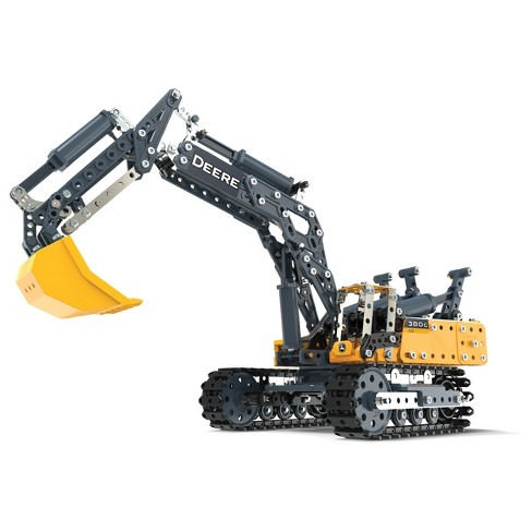 Meccano Erector - John Deere 380G Excavator with Working Hydraulics - image 1 of 3