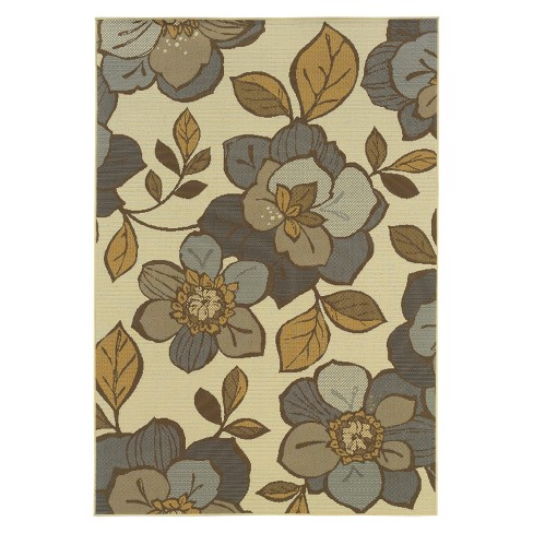 Alyse Floral Indoor/Outdoor Rug - image 1 of 1