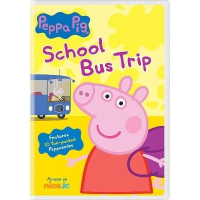 Peppa Pig: School Bus Trip (DVD)